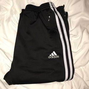 Adidas button up pants